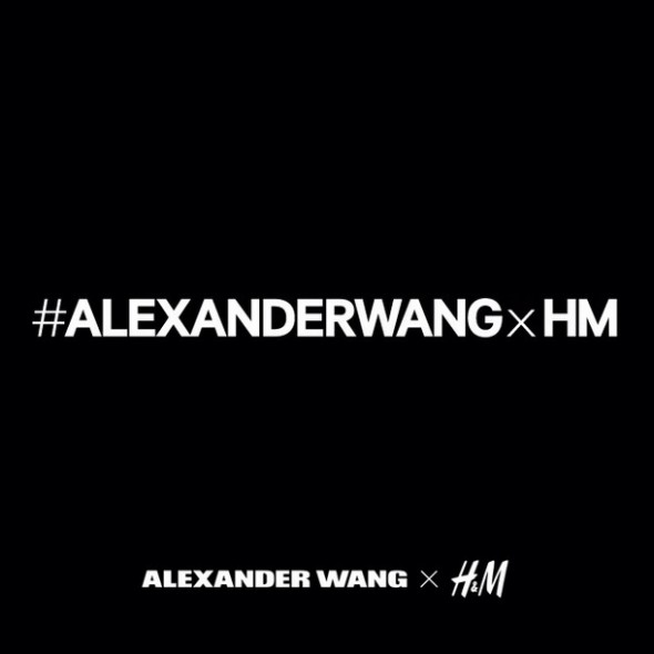 BREAKING NEWS: Alexander Wang for H&M