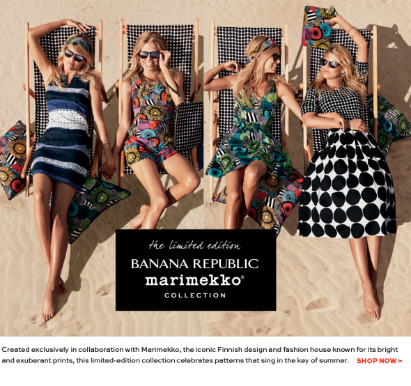 Banana Republic x Marimekko collection