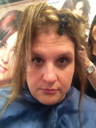 hair model at the New York International Beauty Show - Magic Sleek - 5