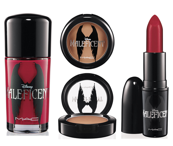 MAC Cosmetics Maleficent makeup line