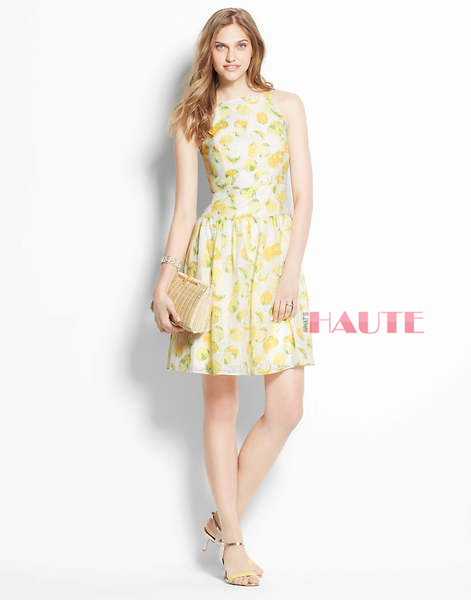 Ann Taylor Lemon Drop Sundress