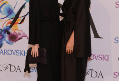 Ashley Olsen and Mary-Kate Olsen at the 2014 CFDA fashion awards