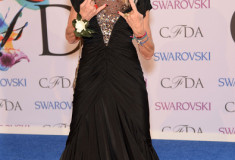 Betsey Johnson at the 2014 CFDA fashion awards