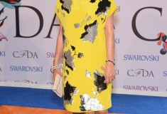 Diane von Furstenberg at the 2014 CFDA fashion awards