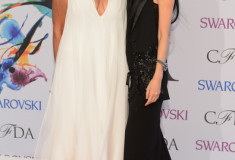 Donna Karan and Vera Wang at the 2014 CFDA fashion awards