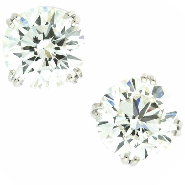 Harry Kotlar 2.0ct Diamond White Gold studs