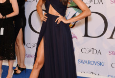 Joan Smalls at the 2014 CFDA fashion awards