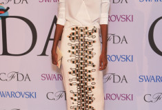 Liya Kebede at the 2014 CFDA fashion awards