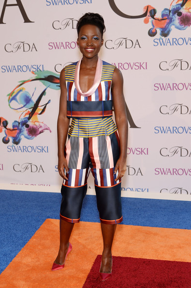 Lupita Nyong'o at the 2014 CFDA fashion awards