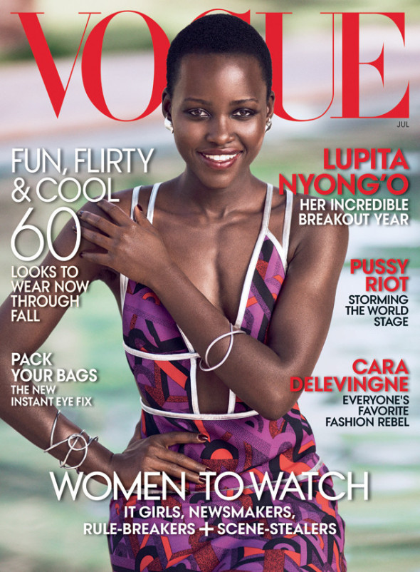 Lupita covers Vogue