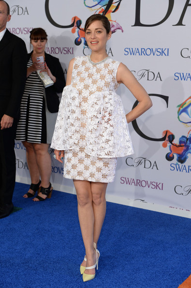 Marion Cotillard at the 2014 CFDA fashion awards