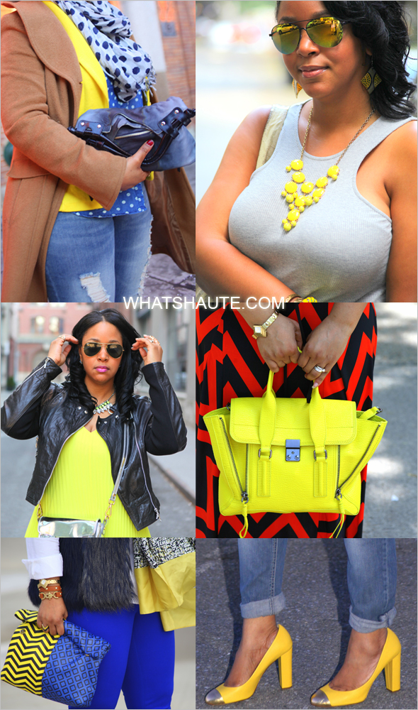 BRIGHT YELLOW FASHION AND ACCESSORIES