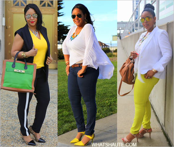 YELLOW: SPRING & FALL FASHION