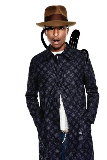 Pharrell for G-Star Raw