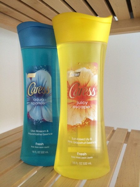 Caress® Fresh Collection – Juicy Escape™ and Aqua Sparkle™ body wash