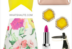 Crop top and Midi skirt: Summer Outfit Inspiration