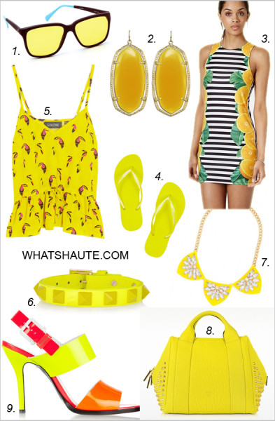 How to wear yellow - get the look
