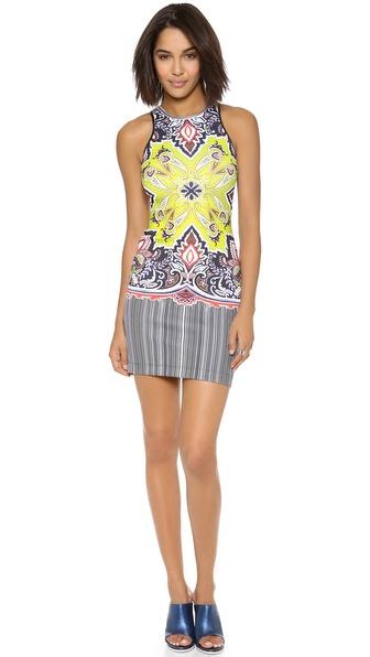 Clover Canyon Havana Paisley Dress - throwback trends