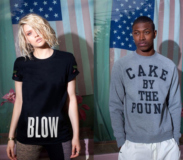 New Beyonce Blow T-shirt and <strong>New Mrs. Carter-themed apparel:</strong> Cake by the Pound sweatshirt