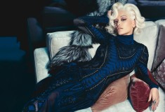 Rita Ora channels Marilyn Monroe in Roberto Cavalli's fall-winter 2014 campaign
