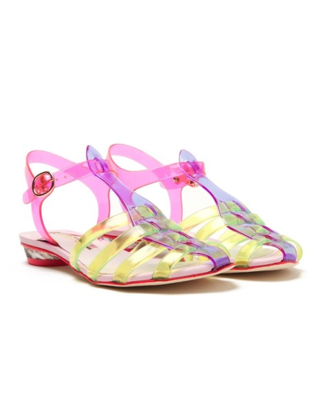 Sophia Webster 'Violeta' jelly sandal - throwback trends