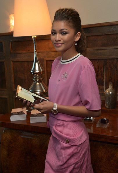 Zendaya attends the 'Letters To The Men I Have Loved' Book Launch Dinner