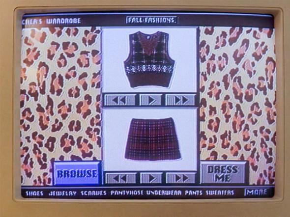 Clueless Cher Horowitz virtual closet