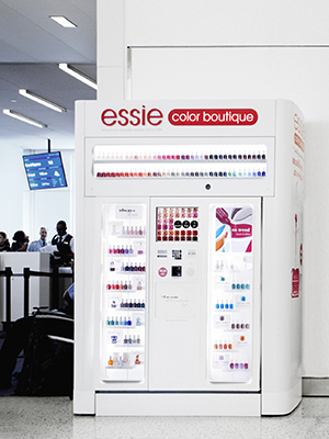 Essie Color Boutique nail-polish vending machine