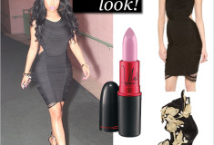 Nicki Minaj gives us LBD envy in this Haute Hippie Fringe Mini Dress