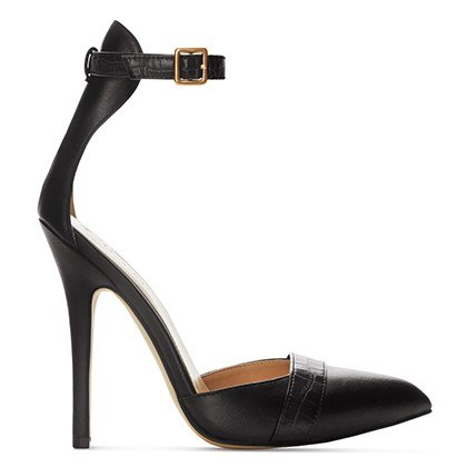 ANKLE STRAP SHOE IN BLACK, $39.99