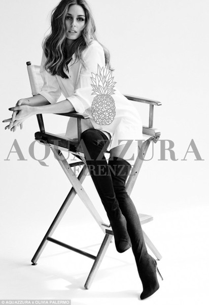 Aquazurra x Olivia Palermo collection