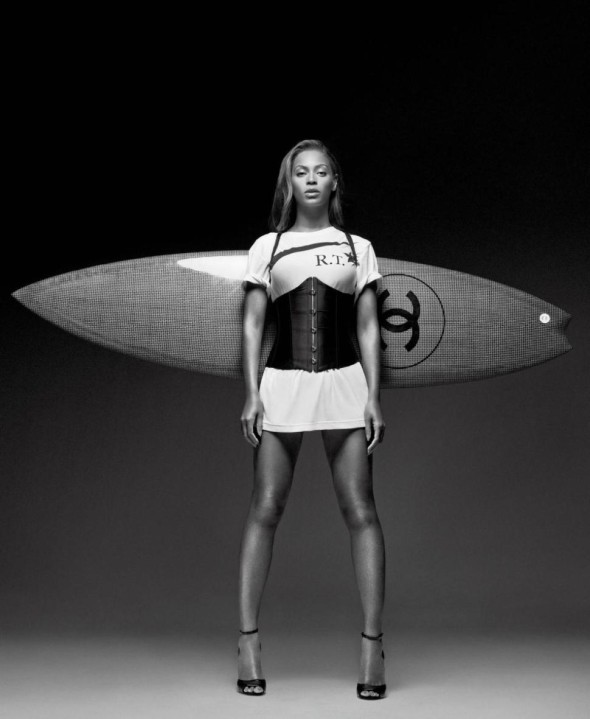 Beyonce CR Fashion Book - Chanel surfboard
