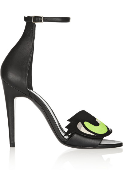 Haute buy: Pierre Hardy sandals with eye detail - side view