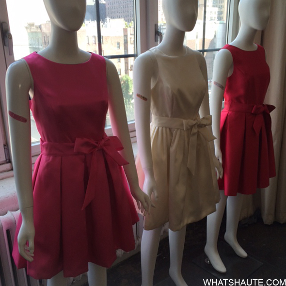 Isaac Mizrahi dresses at Band Aid launch