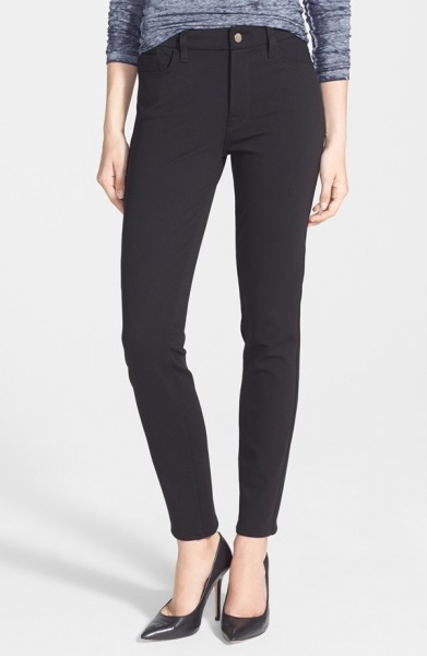 Jen7 Five Pocket Skinny Ponte Pants
