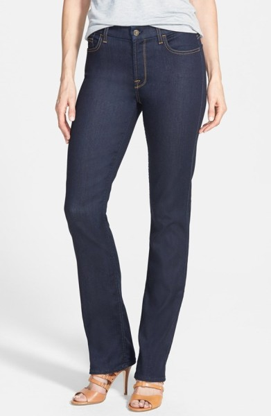 Jen7 Stretch Straight Leg Jeans