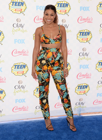 Jordin Sparks in Simply Intricate at 2014 Teen Choice Awards