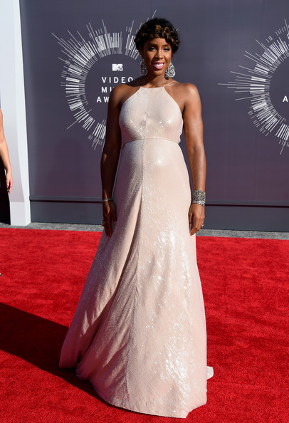 Kelly Rowland in Kaufman Franco at the VMAs