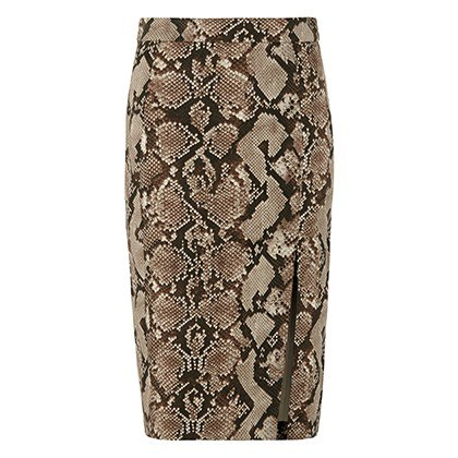 PENCIL SKIRT IN PYTHON PRINT, $34.99