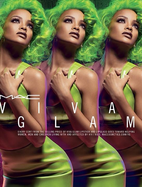 Rihanna MAC Viva Glam second collection