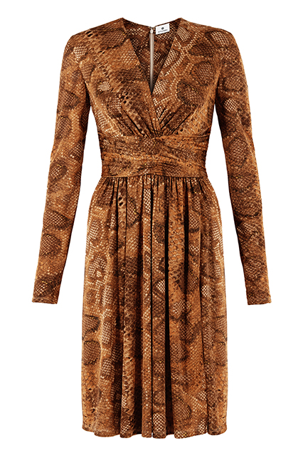WRAP DRESS IN PYTHON, $44.99