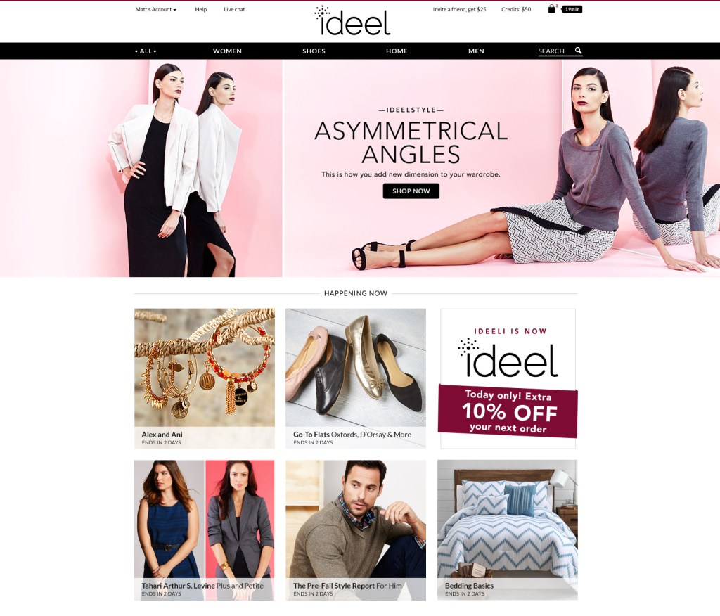 ideeli rebrands as ideel