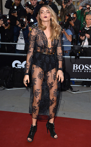 Cara Delevingne at the GQ Men of the Year Awards