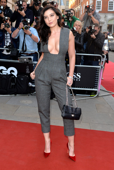 Daisy Lowe at the GQ Men of the Year Awards