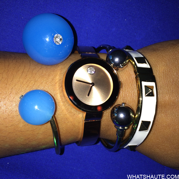 Lucky Magazine Movado Bold Arm Candy Party
