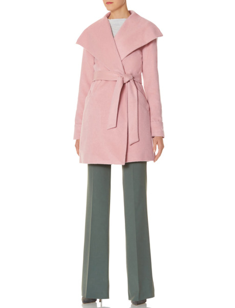 The Limited - Scandal Collection Drape Collar Wrap Coat