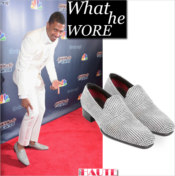 What He Wore: Nick Cannon in $2 Million Tom Ford Shoes covered in Diamonds and White Gold