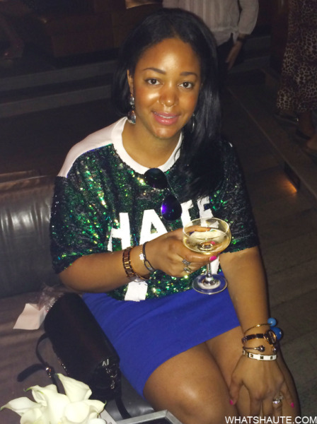 What's Haute Lucky Magazine Movado Bold Arm Candy Party