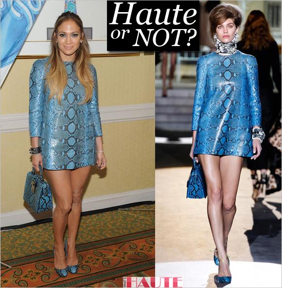 Haute or Not: Jennifer Lopez in Dsquared²