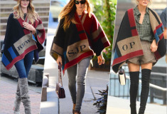 What's Haute Right Now: Blanket Capes & Ponchos